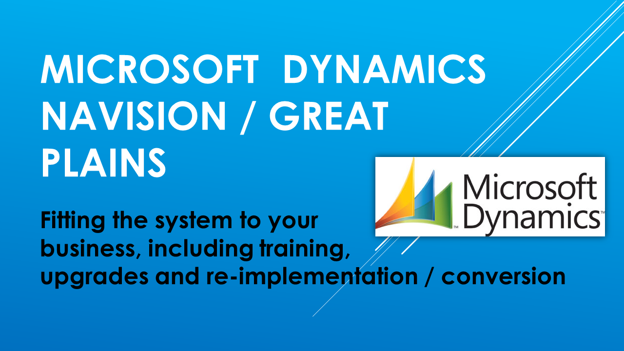 Microsoft Dynamics Great Plains Navision