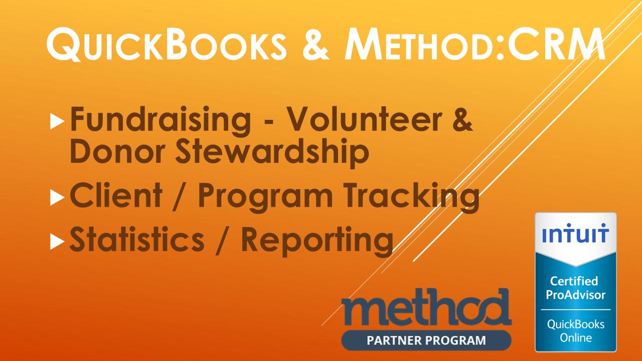 method crm quickbooks combination